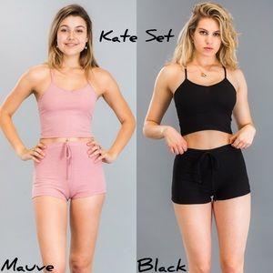 Other - Kate Set in Mauve & Black